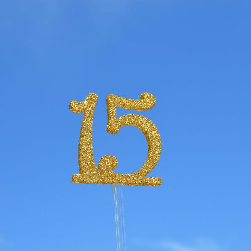 marcador número