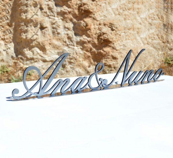Nomes dos noivos