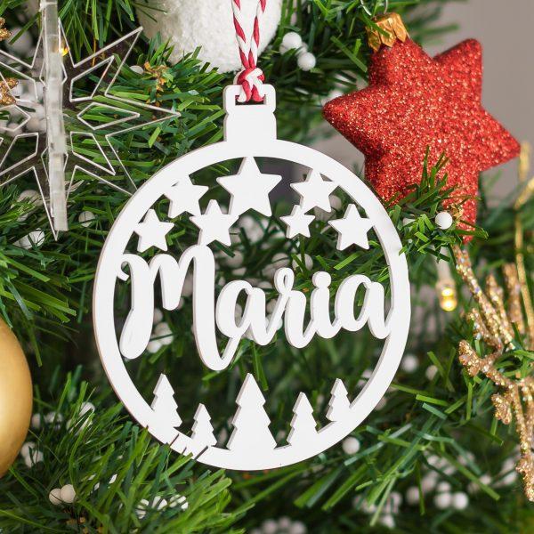 Bola de Natal personalizada